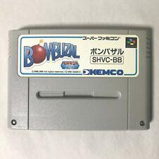 Bombuzal Nintendo Super Famicom SFC SNES NTSC-J Japan KEMCO Puzzle