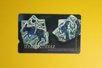 Turk Telekom-Muzelerimiz Art Konya 2001 -Collectibles Vintage Tele Phone Card