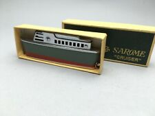 SAROME CRUISER VINTAGE LIGHTER BOX 1st model MECHERO Feuerzeug Briquet 点烟器