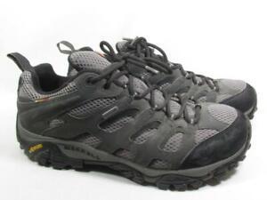 Merrell Moab Gore Tex Hiking Shoe Men size 10.5 M Gray