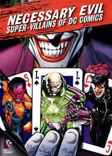 Necessary Evil: Super-Villains of DC Com DVD