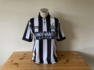 Newcastle United Home Shirt Large 1993/1994/1995 Vintage Football Retro