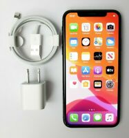 Apple iPhone X - 256GB - Space Gray GSM Factory Unlocked A1901 - Fair Condition