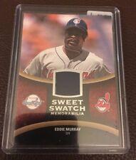 2008 Sweet Spot Sweet Swatches Eddie Murray Jersey Card