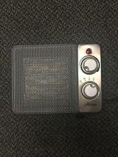 Hunter 1500-Watt Ceramic Retro Electric Portable Heater - Black