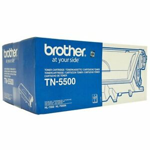 Toner Original Genuine Brother TN-5500 Noir 12000 Pages HL7050 HL-7050N