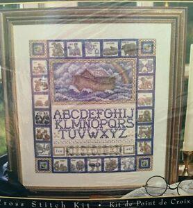 Leisure Arts Teresa Wentzler Counted Cross Stitch Kit Noah's Ark Sampler 113950