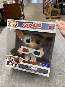 "Funko Pop Movies Gremlins GIZMO 1149  with 3D Glasses Vinyl Walmart Jumbo 10"""