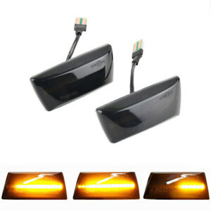 Dynamic Side Marker Turn Signal Light For Opel Insignia A MK1 Chevrolet Cruze
