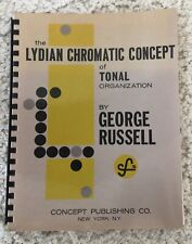 Vintage Rare Lydian Chromatic Concept of Tonal Organization by George Russell