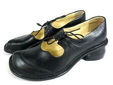 TIGGERS Spangen Halbschuhe Leder Schuhe schwarz Schnürer Gr. 37 NEU   Art.027