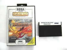 Heroes Of The Lance - No Manual - SEGA Master System