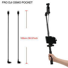 39.37 inch Type-C to Usb-C/Micro Usb Extension Cable Adapter for Dji Osmo Pocket