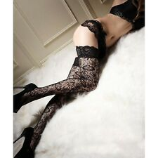 Stockings Tube Socks Fashion Sexy Floral Print Over Knee Thigh High Stockings