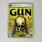 Gun Video Game For Microsoft Xbox 360 (2005) Complete, Tested, Clean Disk