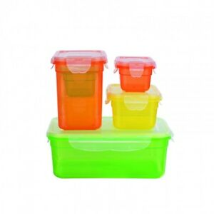 GOURMETmaxx Frischhaltedosen Set 12-tlg. Aroma-Schutz Gefrierdosen Vorratsdosen