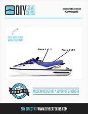 KAWASAKI SS ZXI 900 XI 1100 BLUE Seat Skin Cover 95 96 97 98 99 00 01 02 03 +