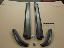 Subaru Impreza Bugeye Sti Wrx 2001-02 lado Falda Extensiones & trasera Labios. Pu