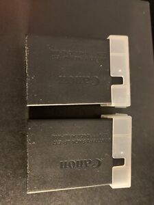Canon Genuine 2x LP-E17 Lithium-Ion Battery in like New Condition