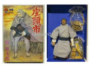Alfrex Samurai Series 1/6 SHINTARO KATSU Zatoichi Action Figure Doll