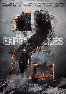 The Expendables 2 Film Poster - Option 1 - A4 & A3
