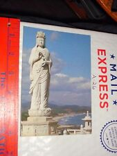 KOREAN KOREA Naksan Haesu Buddhist Goddess Statue Mercy Temple port bay coast