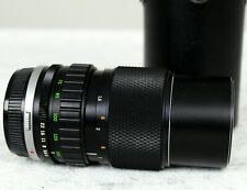 Olympus Zuiko Auto Zoom 75-150mm F4.0 Lens Om-System With Case (nos 124178)