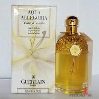 Aqua Allegoria Ylang & Vanille Guerlain Eau De Toilette Spray 4.2 oz 125 ml Rare