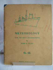 METEOROLOGY; FOR THE M.O.T EXAMINATIONS 1961 by KEMP & YOUNG