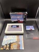 Final Fantasy: Mystic Quest (Super Nintendo) SNES Complete In Box W/ Map