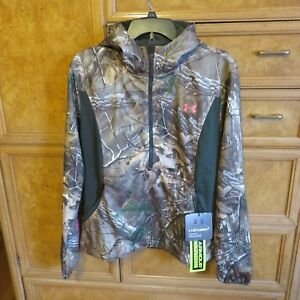 Women's Under Armour Storm Real tree hunting hoodie scent control L NWT $139.99