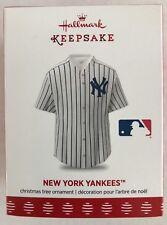 Hallmark Ornament 2017-NEW YORK YANKEES-MLB JERSEY-BASEBALL SHIRT-New