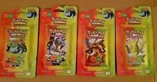 Pokémon Booster EX Series Fire Red Leaf Green Blisters 4X- Charizard - All 4 Art
