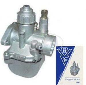 SIMSON  Motor  Vergaser  BVF 16 N3-1  für Schwalbe KR51/2  Original BVF-Qualität