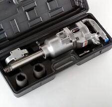 "1"" Air Impact Wrench Gun Long Shank Heavy Duty Commercial Truck Mechanics +CASE"