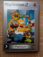 The Simpsons Hit & Run Sony PS2 - Playstation 2 - Kids Game - Tested - VGC