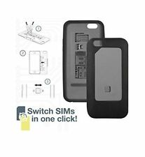 Dual Sim Case Cover For iPhone 6 - Micro & Standard Sim Card Compatible.