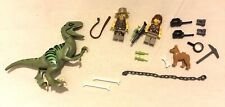 LEGO Dinosaur DINO Attack Minifigure Lot MiniFig Dog Weapons Magnified glass
