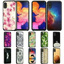 For Samsung Galaxy A10e / A20e Hybrid Dual Layer Fitted Protective Slim Case