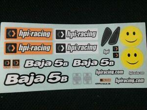 1/5th HPI racing 5B 5T 5SC body Sticker Decal1pcs RC Ccar FG MCD Baja 5T 5B 1PCS