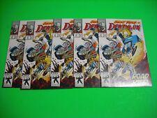 Deathlok #9 (5 copies) - Battles Ghostrider