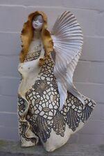 ANGELO in ceramica da appendere ARTE fatto a mano realizzato a mano BELLISSIMI COLORI Fattoria shop 06-01