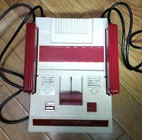 Nintendo Family Computer Famicom NES Console Untested HVC-001