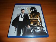 Casino Royale (Blu-ray Disc, 2006) Daniel Craig, James Bond 007 Used