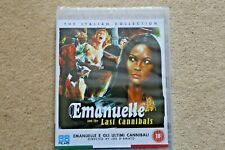 BLU RAY EMANUELLE AND THE LAST CANNIBALS  ( STUDIO 88 FILMS )  NEW UK STOCK