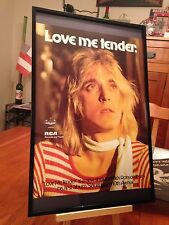 "Big 11X17 Framed Mick Ronson ""Slaughter On 10th Avenue"" Lp Cd Promo Ad + bonus!"