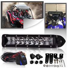 """FOR TRUCK UTE ATV 10""""single Row Cree LED Light Bar +Mounting Bracket"""
