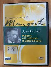 DVD  USED MAIGRET E IL CADAVERE IN ABITO DA SERA - JEAN RICHARD