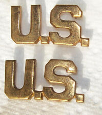 """Gilt Officer """"US"""" sew on Insignia by GAUNT"""
