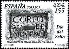ESPAÑA 2001 3780 Dia del Sello 1v.
